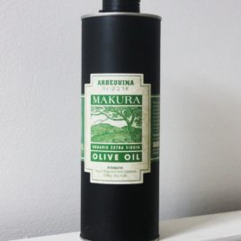 Organic Arbequina Olive Oil, 750 ml Tin